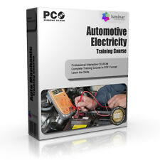 Car Mechanic Basic Electronics Training Course Book CD-ROM