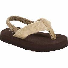 Garanimals Thong Flip Flop Sandals Boys Shoes Size 2 Brown