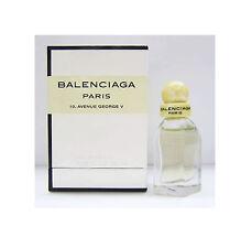 BALENCIAGA PARIS  7.5ml Eau De PARFUM  PERFUME MINI - STUNNING in Gorgeous Box!