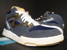 2013 REEBOK PUMP OMNI LITE NOTRE DAME IRISH NAVY BLUE BRASS GOLD WHITE J98964 9