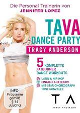 TRACY ANDERSON - TAVA DANCE PARTY   DVD NEU