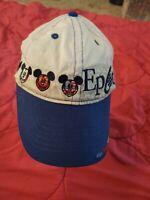 Disney World Strapback Hat Cap Mickey Mouse Epcot Center child size