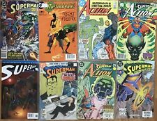 SUPERMAN: Bulk Value Pack. 8 Comics Including Issues by Perez, Byrne & Morrison.