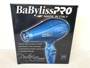 BaByliss PRO Nano Titanium Portofino 6600 Dryer 2000 Watt Model BNTB6610  (11)