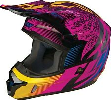 Fly Racing Kinetic Inversion Graphic MX Helmet Wild
