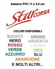 Adesivo Targhetta LML STAR CORSA PVC adesivi sticker scudo cofano VESPA SCOOTER