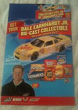 Dale Earnhardt Jr.- Store Display Poster - #3 Nilla/Nutter Butter Car