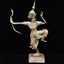 Asia Cambodia Khmer Thailand Antique Buddhism Buddha Statue Spiritual God Dance