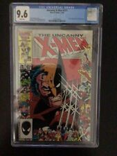 CGC 9.6 Uncanny X-Men 211 White Pages - Free Shipping