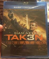 Taken 3 Unrated Blu-ray Digital HD Brand New ! Liam Neeson