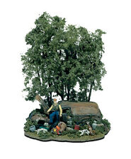 HO Scale Woodland Scenics THE HUNTER Scene- Free Shipping (to US addresses)
