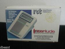 Vintage Interlude Caller Id Box Display by Northern Telecom Nib