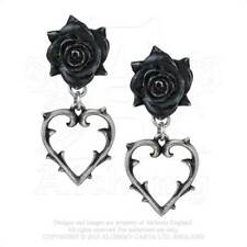 Alchemy - Wounded Love - Pewter Stud Earrings