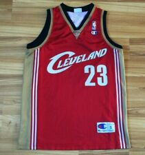 NBA CLEVELAND CAVALIERS BASKETBALL SHIRT JERSEY CHAMPION #23 JAMES SIZE S SMALL