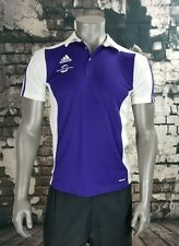 Men's Medium Adidas Orlando City Soccer Sponsor Orlando Health Polo Purple MLS