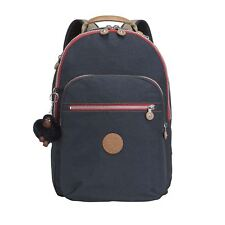 Kipling Clas Seoul True Navy C Large Backpack With Laptop Protection
