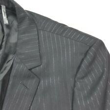 Dior Homme Hedi Slimane Metallic Silver Pinstripe Suit • Italy • 36 Reg | 34x30