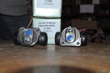 2 cylindres de roue arrière peugeot 204 404 304 simca 1000