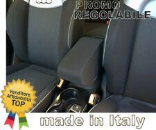 FIAT 500X Bracciolo REGOLABILE tessuto nero promo ORIGINALE WOOD COMPANY ITALY