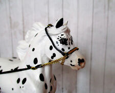 Miniature Horse Cable Show Halter for 1:9 (Breyer Traditional) Model Horse: Gold