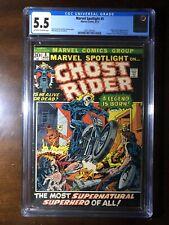 Marvel Spotlight #5 (1972) - 1st Ghost Rider!  - CGC 5.5 - Key!