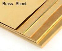 0.5mm brass sheet model making brass - Various sizes