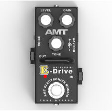 AMT Electronics E-Drive MINI (ED-2) – JFET distortion pedal - emulates ENGL