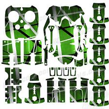 DJI Inspire 1 graphic skins w/6 Batteries Transmitter Decals | Death Metal Green