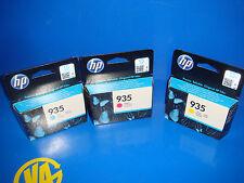 Lote de tres tintas HP officejet pro para 6230 e printer Magenta/Cyan/Yellow