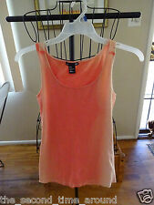 H&M Fashion TIE DYE ORANGES TANK TOP SIZE SMALL NWOT CUTE