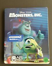 Monster, Inc. 3D KimchiDVD Exclusive Steelbook Blu ray Neu/OVP nur 800 St