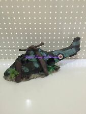 ~HELICOPTER AQUARIUM ORNAMENT MED 40CM~