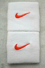 Nike Tennis Premier Wristbands Singlewide White/Total Crimson Men's Women's