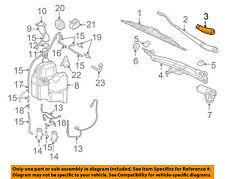 VOLVO OEM 01-09 S60 Wiper Washer-Window-Wiper Arm Cover Right 9484620