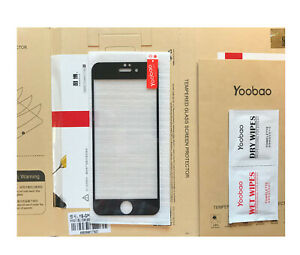 Genuine  Yoobao Quality Iphone 6 Tempered Glass real 9H hardness,,,Black colour