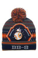 Star Wars 165614 Boy's Astromech Droid BB-8 Pompom Beanie Size One Size