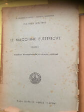 INGEGNERIA PROF.ENZO CARLEVARO LE MACCHINE ELETTRICHE VOL1 e vol 2