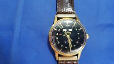 Vintage ZODIAC Auto Triple Date Calendar Moon Phase Men's Watch