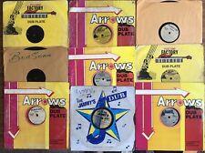 9 x Dancehall Dubplates original from Jamaica acetate soundsystem