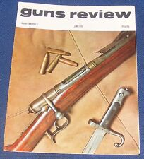 GUNS REVIEW MAGAZINE JUNE 1975 - FLETCHER JAMIESON'S RIFLE/THE RUSSIAN PURDEY