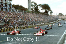 Brazilian Grand Prix Start Interlagos 1976 Photograph