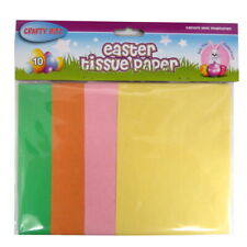 Crafty Bitz Easter Coloured Tissue Paper - 10 Sheets