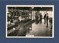 power opperated SIGNAL BOX original 1938 photographic card