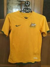 AUSTRALIA NATIONAL TEAM JERSEY HOME Shirt 2006 2008 Football SOCCER YELLOW NIKE