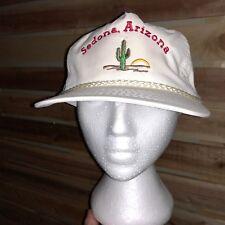 VTG 80s/90s Sedona Arizona Snapback White Baseball Hat/Cap