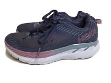 Hoka One One Clifton 5 Womens Running Shoes Size 7 Blue Purple