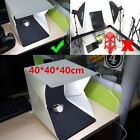 """LED Light Room Photo Studio 16"""" Photography Lighting Tent Kit Mini Cube Box IB"""
