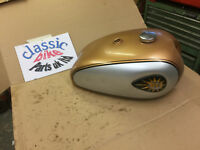 BSA A10 A7 B31 B33 ORIGINAL TANK ROCKET GOLD STAR FLASH SS PROJECT