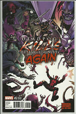 Deadpool Kills the Marvel Universe Again #5 Wjingaard Variant Marvel 2017