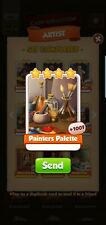 Coin Master 50x Painters Palette Cards